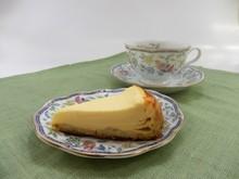 亜麻仁(あまに=亜麻の実)の 手作りヘルシーケーキ