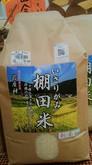 9月 「日本の棚田百選」選定。岩座神の棚田米。